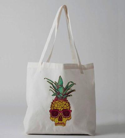 Pineapple Rockstar Tote bag · Luxury Brand LA · Online Store Powered by Storenvy