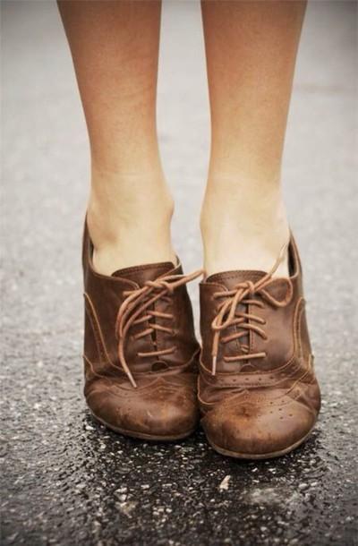 shoes oxfords brown shoes oxfords dress shoes women derbies brogue shoes ankle boots
