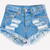 Keepers Stone Dreamer Shorts | RUNWAYDREAMZ