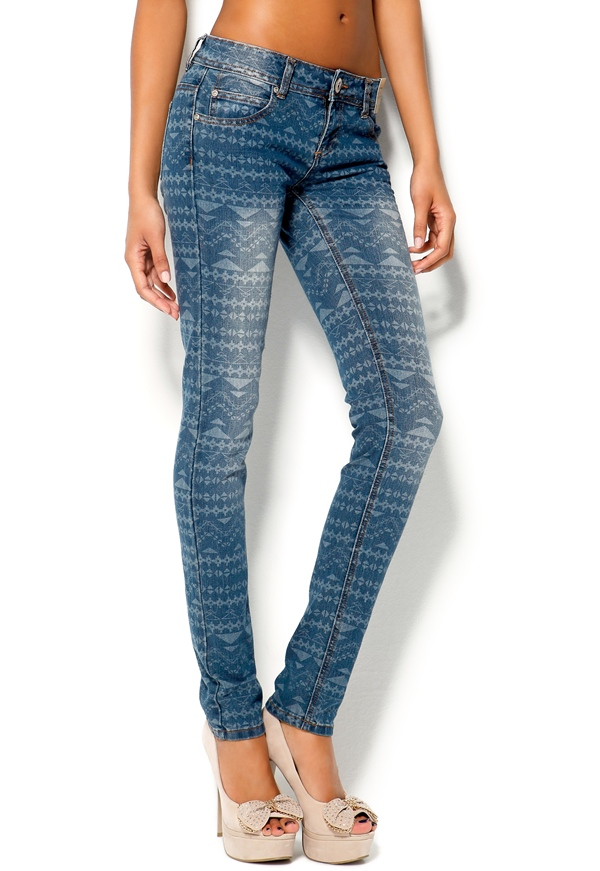 Mixed from Italy Aztec Jeans - Bubbleroom