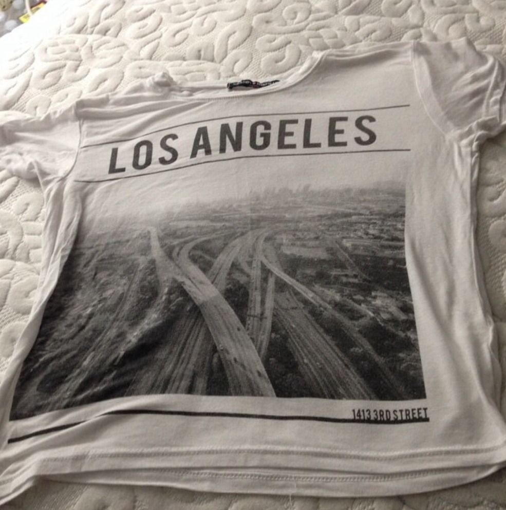 Brandy Melville Los Angeles Top | eBay