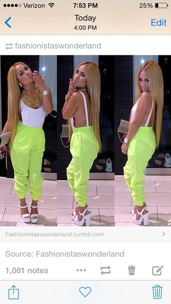jumpsuit swag style fashion white top one piece side boob backless