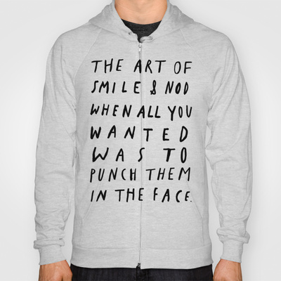 THE ART OF Hoody by WASTED RITA | Society6