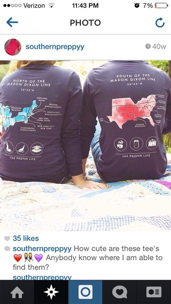 shirt preppy t-shirt couple sweaters