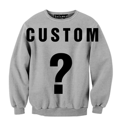 Custom Crewneck Sweatshirts & Jumpsuits | #belovedshirts
