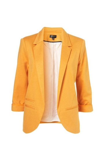 Candy-Color Boy Friend Blazer Without Button [FFBI0010]- US$39.99 - PersunMall.com