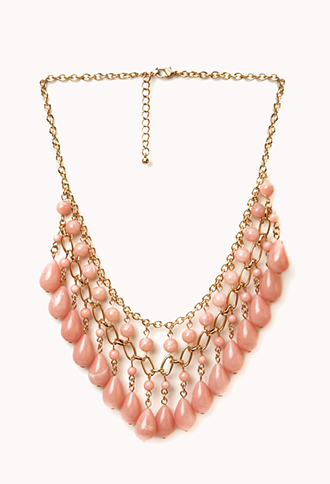 Dangling Beaded Necklace | FOREVER21 - 1040494962