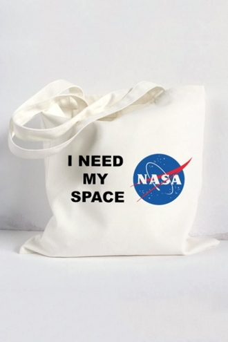 bag nasa cool fashion style trendy quote on it beautifulhalo