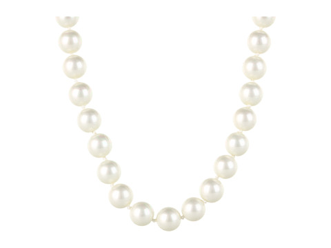 Kate Spade New York Skinny Mini Bridal Pearl Necklace Cream/Silver - Zappos Couture
