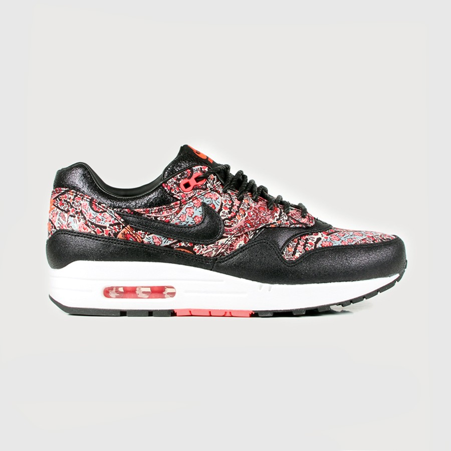 Nike x Liberty of London - Women's Air Max 1 QS (Black | Scarlet Red)