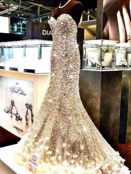 dress prom dress sparkly dress