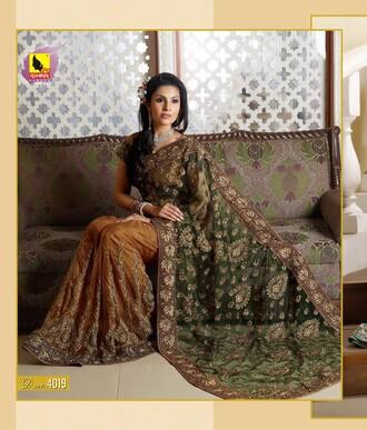sarees women india dress