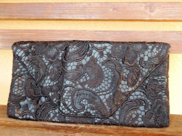 bag black lace clutch black lace bag lace clutch jessica simpson black clutch