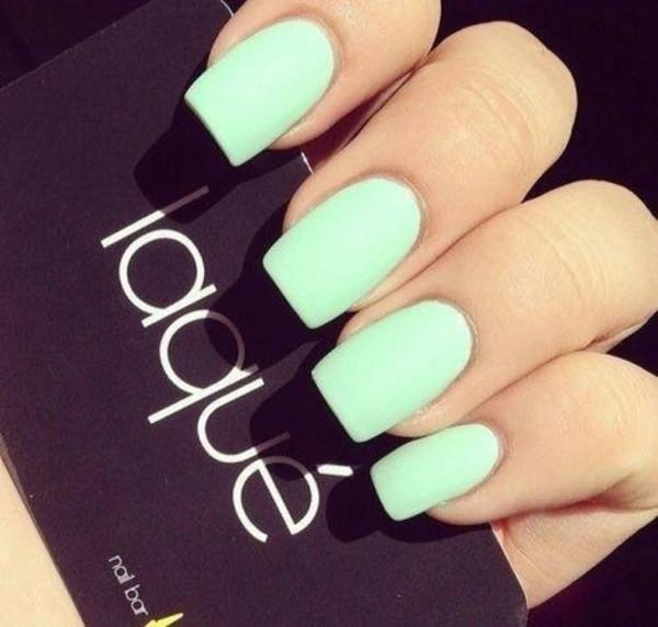 nail polish turquoise