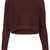 Knitted Rib Curve Crop Jumper - Topshop