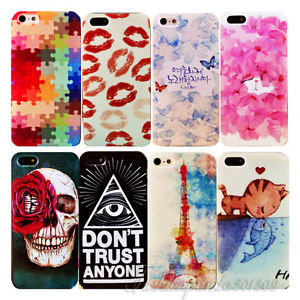 Painted Variou Pattern Lovely Phone Hard Back Skin Case Cover for iPhone4 4S 5 5 | eBay