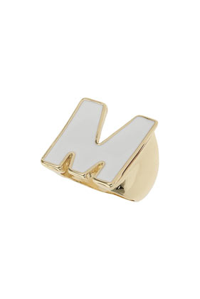 M Initial Ring - Topshop