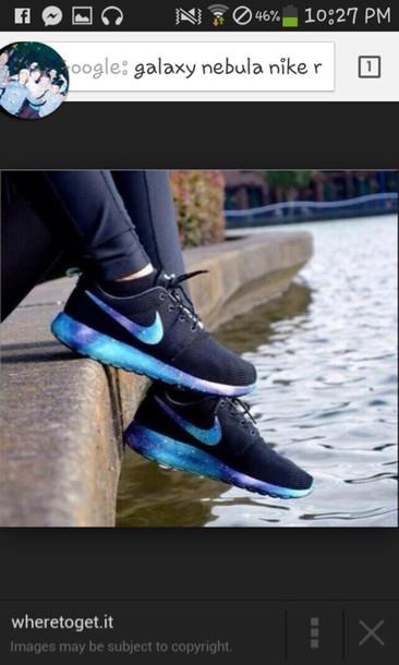 shoes nike running shoes galaxy shoes