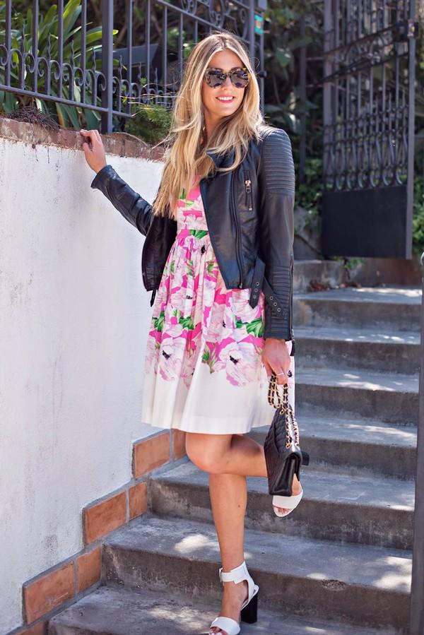 devon rachel jacket shoes sunglasses bag dress