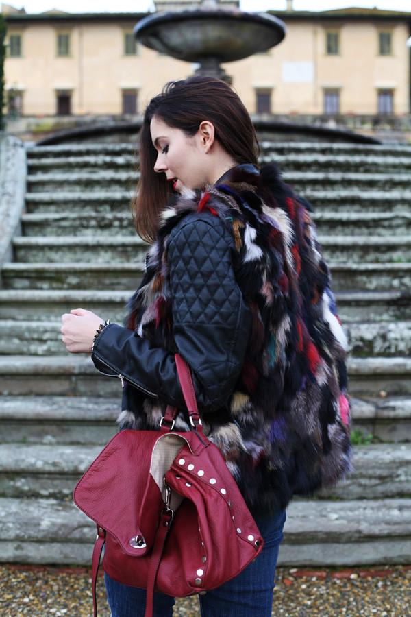 irene's closet jacket shoes bag irene closet blogger