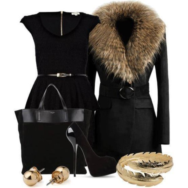 jacket dress jewels shoes bag