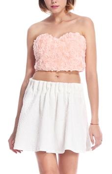 Rose Crop Top - Juicy Wardrobe