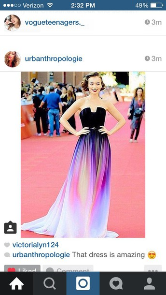 lily collins ombre