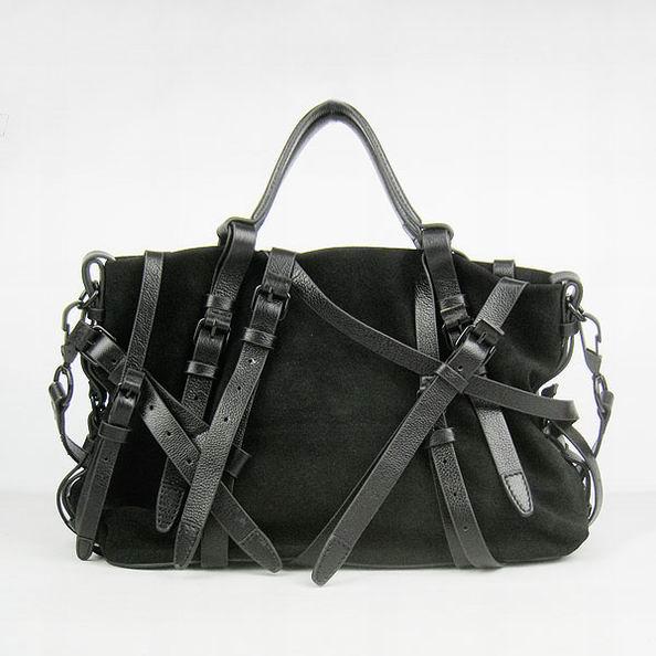 Alexander Wang Kristen Multi Strap Bag Black [Alexander Wang Bag AW029] - $338.00 : Zen Cart!, The Art of E-commerce