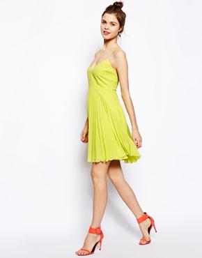 ASOS | ASOS Pleated Mini Dress at ASOS