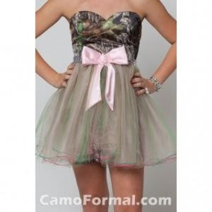 Camo Prom or Homecoming Dress - Polyvore