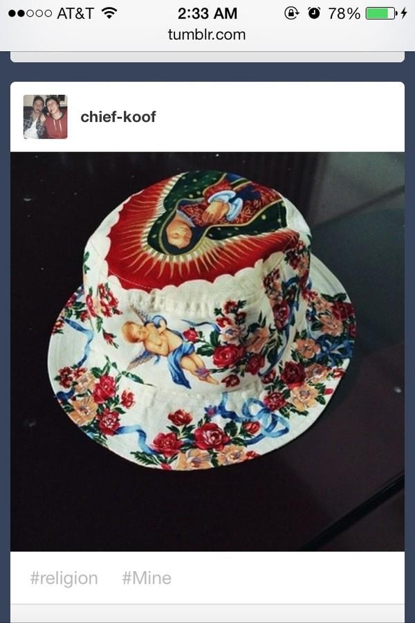 hat bucket hat hat