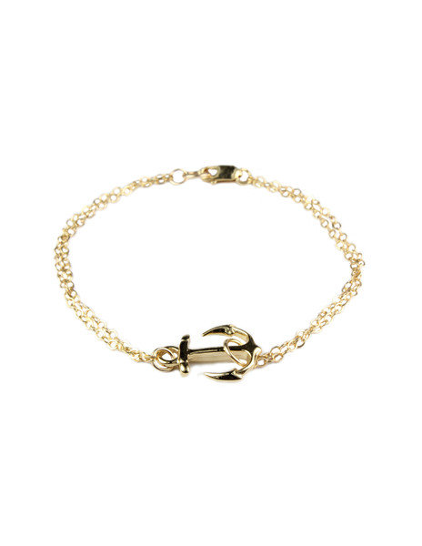 Anchor Bracelet on Wanelo
