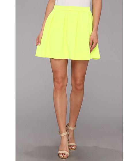 Gabriella Rocha Lauren Ashley Skater Skirt Neon Yellow - Zappos.com Free Shipping BOTH Ways