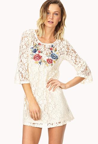 Boho Beauty Crochet Dress | FOREVER21 - 2000070496