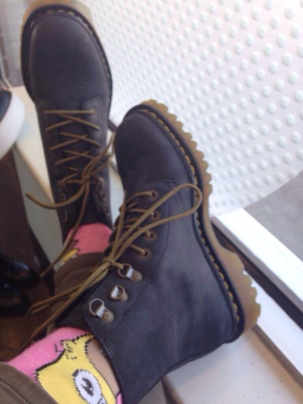 shoes DrMartens DrMartens boots combat boots underwear