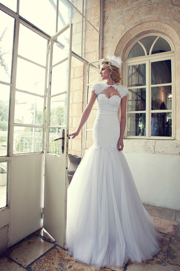 dress white wedding dress wedding dress wedding dress cap sleeve wedding dress mermaid wedding dress tulle wedding dress sweetheart wedding dress