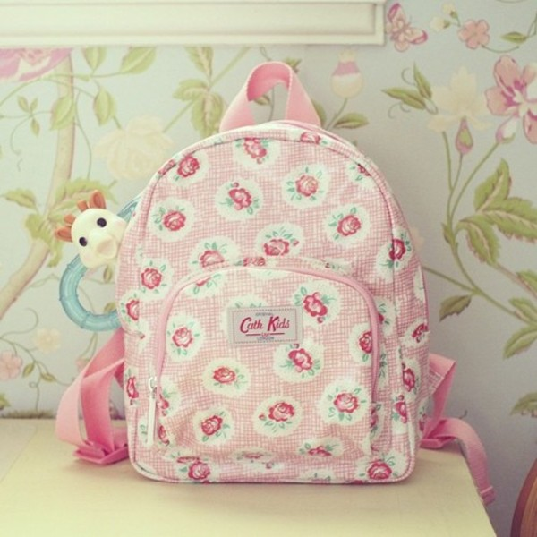 bag pink love backpack clothes clothes cute outfits