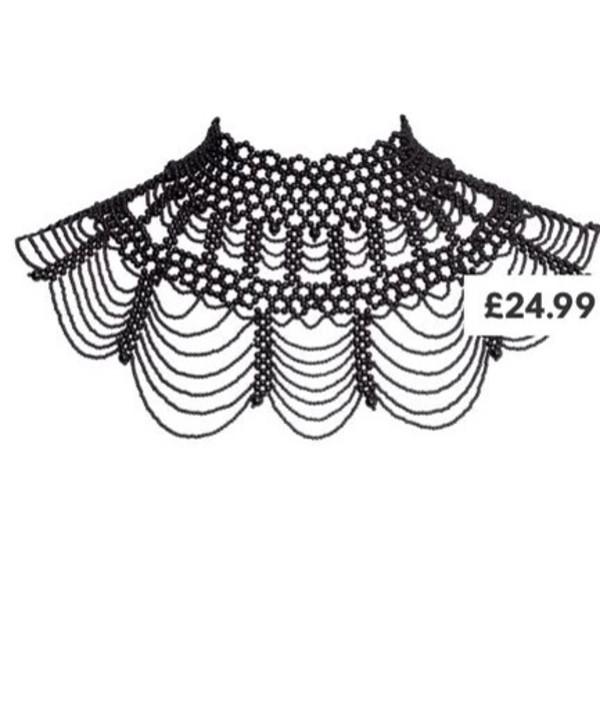 jewels h&m necklace