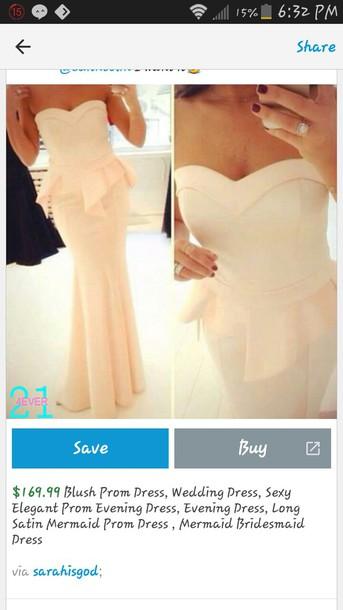 dress blush pink prom dress mermaid prom dress mermaid prom dress mermaid wedding dress