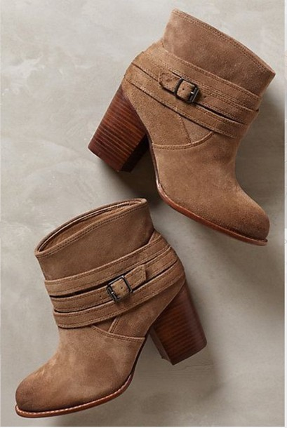 shoes booties suede boots