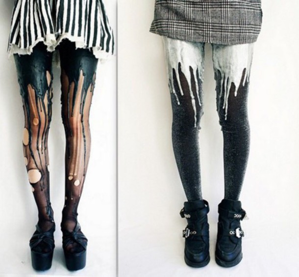 tights grunge indie hipster tighs leggings art
