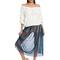 chiffon full length skirt   shop american apparel
