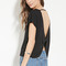 Contemporary bow-back top