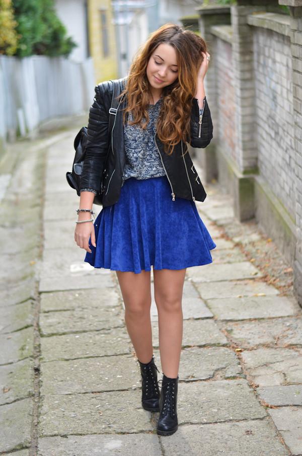 kolorowa dusza jacket sweater skirt jewels shoes