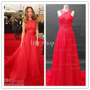 Celebrity Dress Inspired by Rihanna 2013 The 55th Grammy Awards Red Carpet Dress | eBay