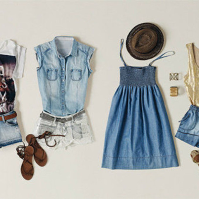 8 Ways To Wear A Denim Shirt  Denim Shirt Outfit Ideas