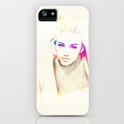 Miley Cyrus - for Iphone iPhone & iPod Case by Simone Morana Cyla | Society6