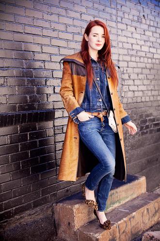 sea of shoes blogger jeans jacket shoes bag belt