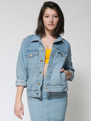 Unisex Denim Jacket | American Apparel