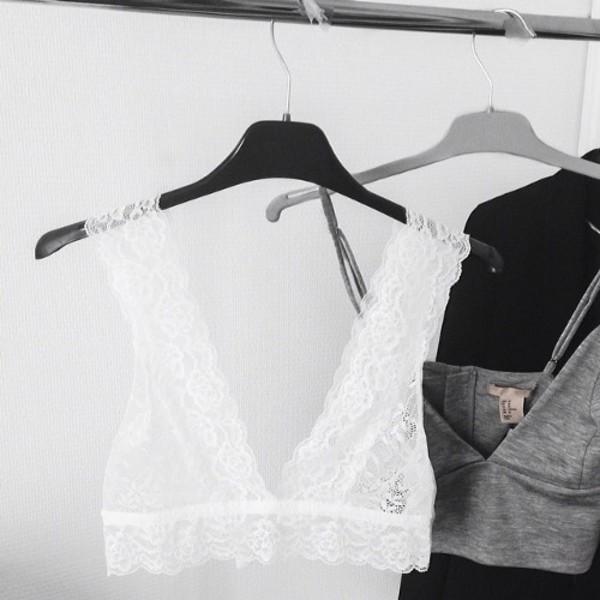 underwear clothes brands bra vest top prefect lovely grey crop crop tops t-shirt tank top white